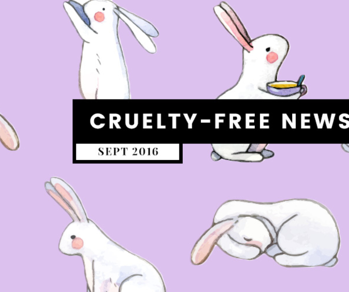 What's Up? Cruelty Free News (September 2016)