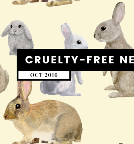 What's Up? Cruelty-Free News (October 2016)