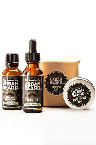 Organic & Vegan Friendly Beard Grooming Gift Pack