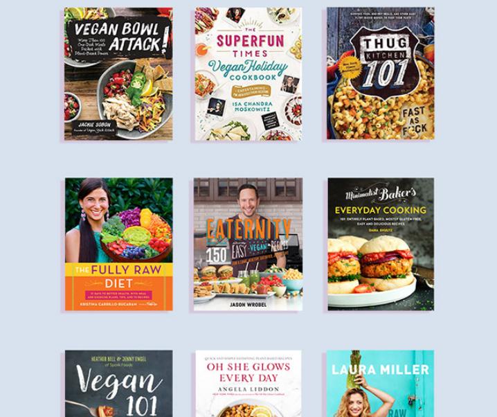 10 Most Popular Vegan Cookbooks of 2016