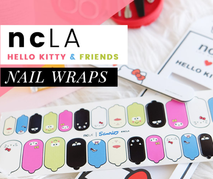 ncLA Hello Kitty Nail Wraps (Cruelty-Free & Vegan)