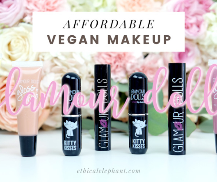 Adorable & Affordable Cruelty-Free & Vegan Makeup with Glamour Dolls!