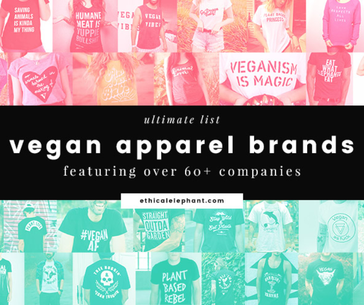 Ultimate List of Vegan Apparel Brands