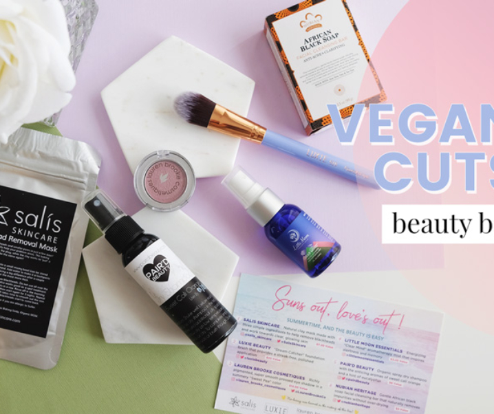 Beauty & The Beach – Vegan Cuts Beauty Box (May 2017)