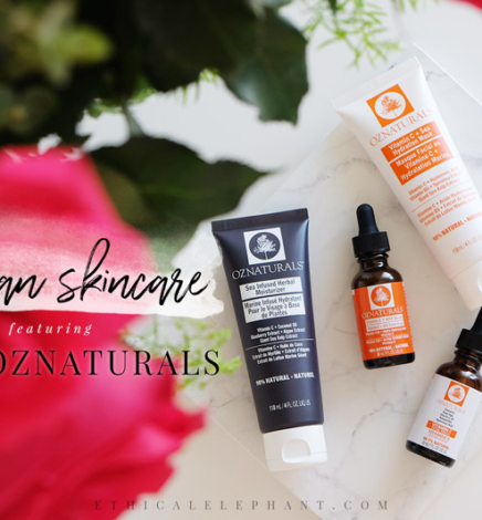 Easily Switch to Vegan Skincare with OZNaturals!