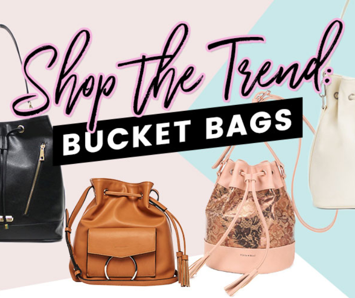 Shop the Trend: Bucket Bags! (Cruelty-free & Vegan)
