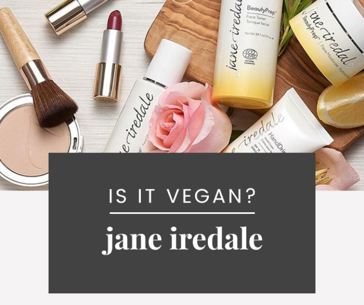 Jane Iredale Vegan Product List