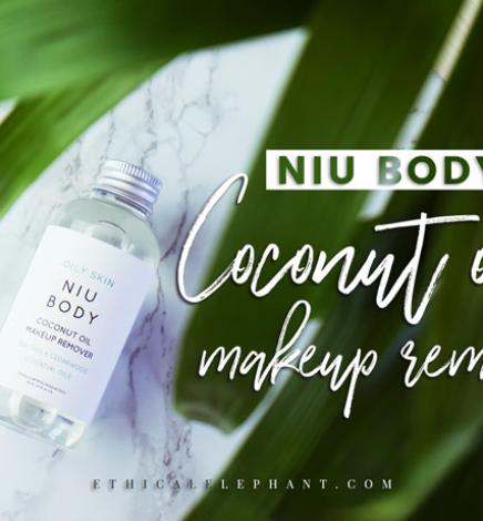 NIU BODY's Cruelty-Free & Vegan Coconut Oil Makeup Remover for Oily Skin