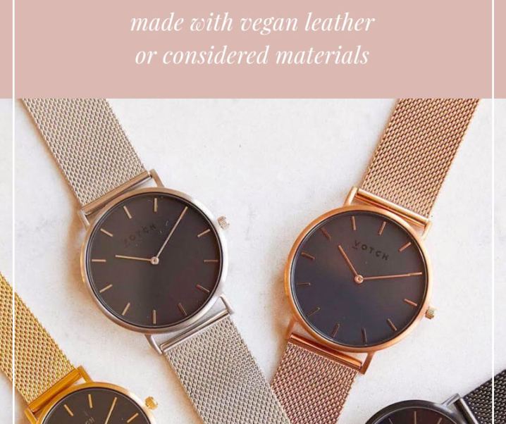 List of Vegan Watch Brands – Timeless Timepieces Without the Cruelty