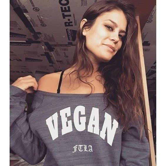 VEGAN For the Love of Animals Vegan Sweater