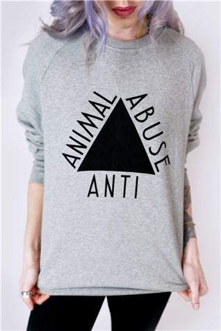 Anti Animal Abuse Vegan Sweater