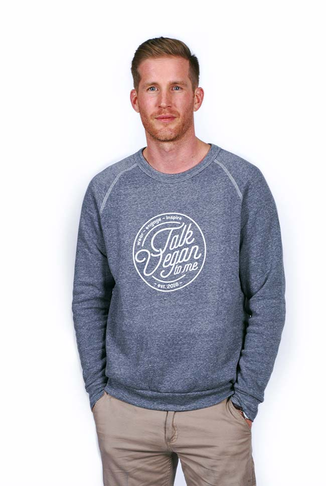 Talk Vegan to Me Vegan Sweater