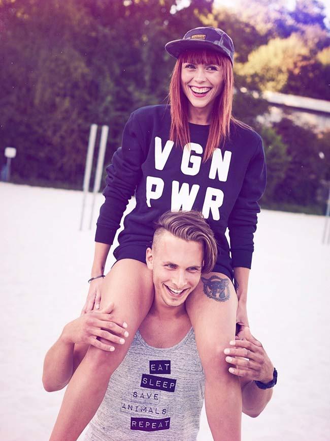 VGN PWR - Vegan Sweater