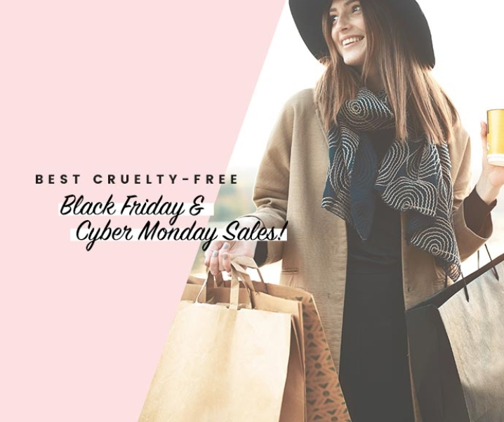 Cruelty-free Black Friday + Cyber Monday Deals