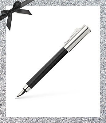 Black Fountain Pen - Ethical Gift Guide