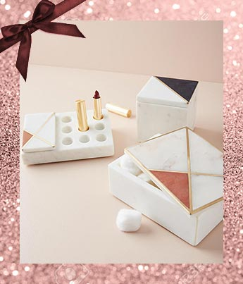 Marble Inlay Jewelry Box - Ethical Gift Guide