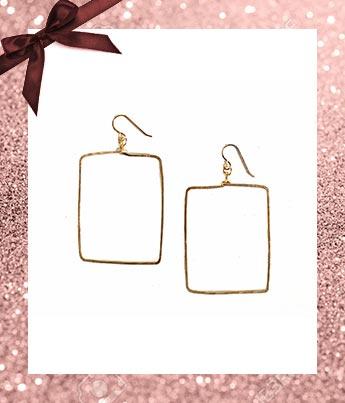 Plot Earrings - Ethical Gift Guide