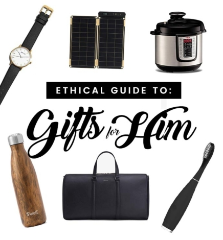 Ethical Gift Guide for Him
