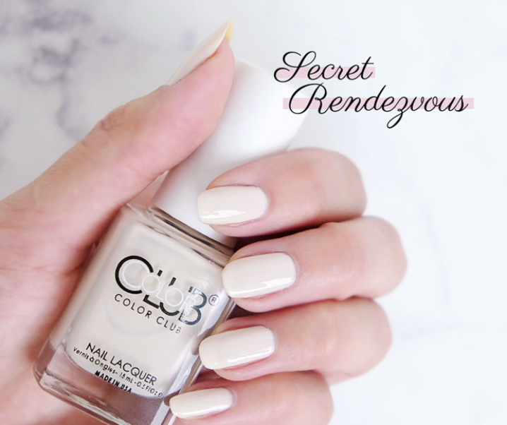 Secret Rendezvous – Color Club | Vegan Mani Monday