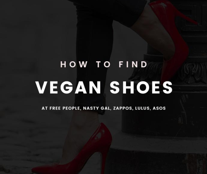 You Can Now Find Vegan Shoes at Free People, ASOS, Zappos & More!
