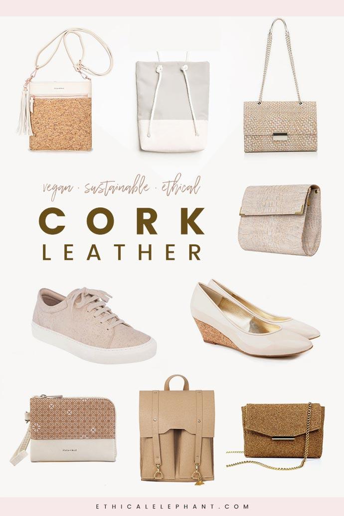 vegan cork sandals