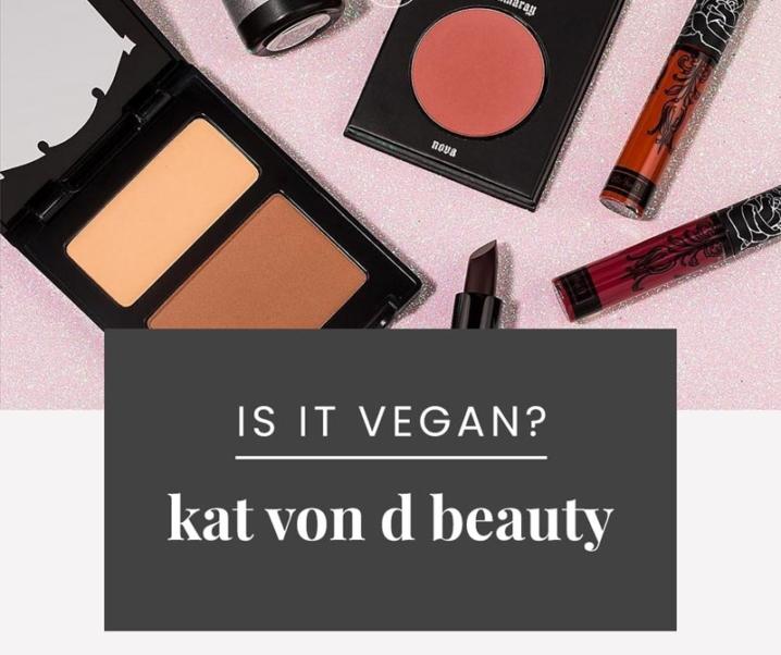Is Kat Von D Vegan? | Update: Kat Von D Beauty is Officially 100% Vegan