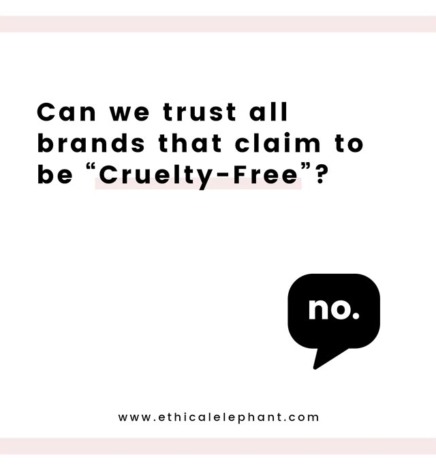 Can We Trust All Brands that Claim to be Cruelty-Free?