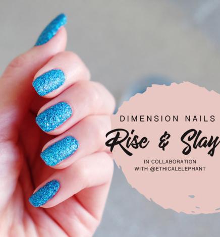 Slay Nails, Not Animals with Dimension Nails Vegan Nail Glitter!