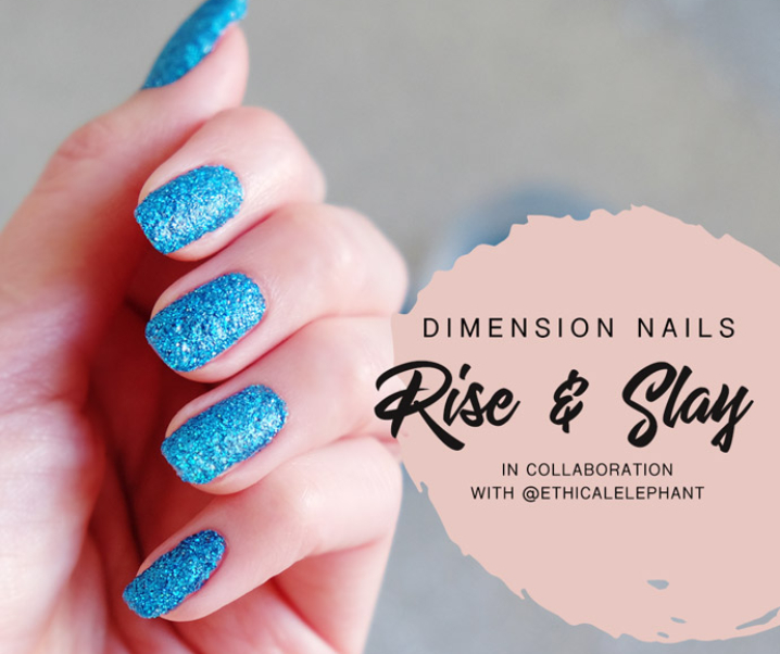Slay Nails, Not Animals with Dimension Nails Vegan Nail Glitter!