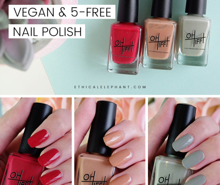 OH TIFF! Cruelty-Free, Vegan, 5-Free Nail Polish Review
