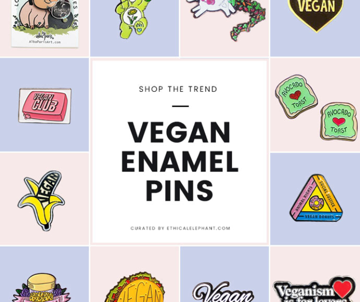 20 Enamel Pins for Awesome Vegans | Shop the Trend