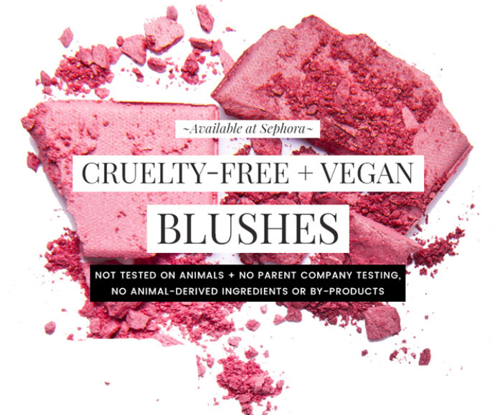 Cruelty-Free & Vegan Blushes at Sephora