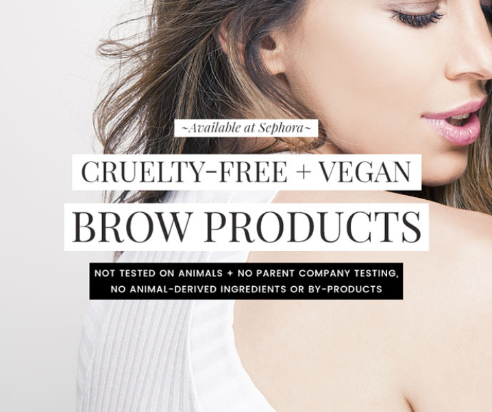 Cruelty-Free & Vegan Eyebrow Makeup Products at Sephora