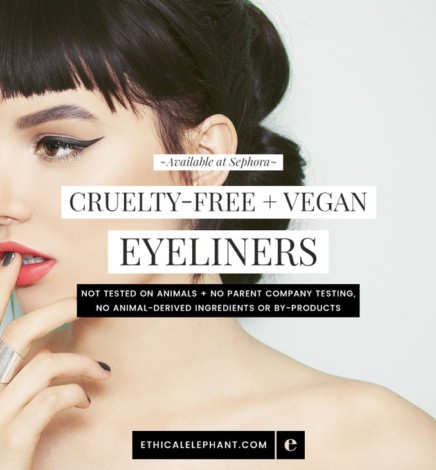 Cruelty-Free & Vegan Eyeliners at Sephora