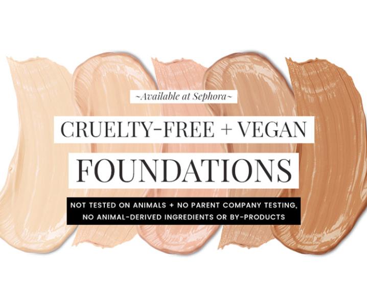 Cruelty-Free & Vegan Foundations at Sephora
