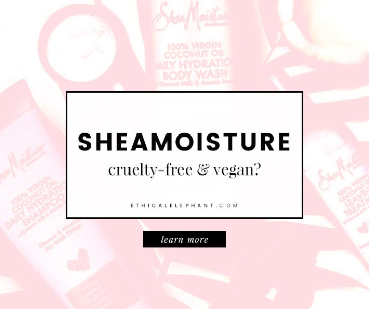 Does SheaMoisture Test on Animals?