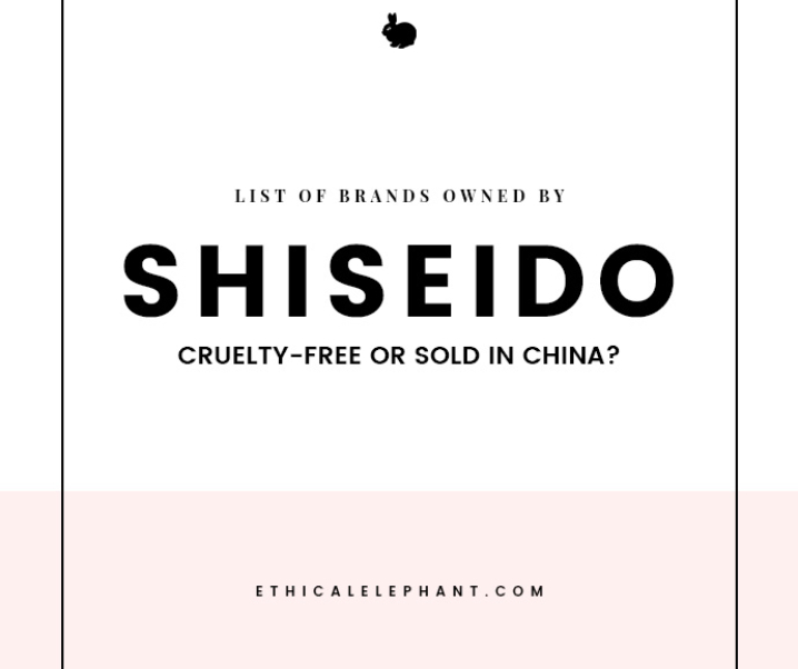 Shiseido Brands – Which Ones are Cruelty-Free or Sold in China?