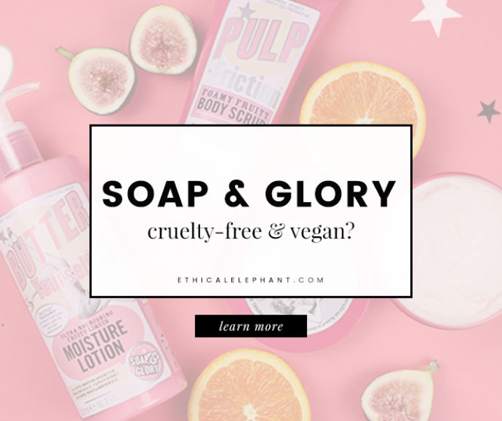 Does Soap & Glory Test on Animals?