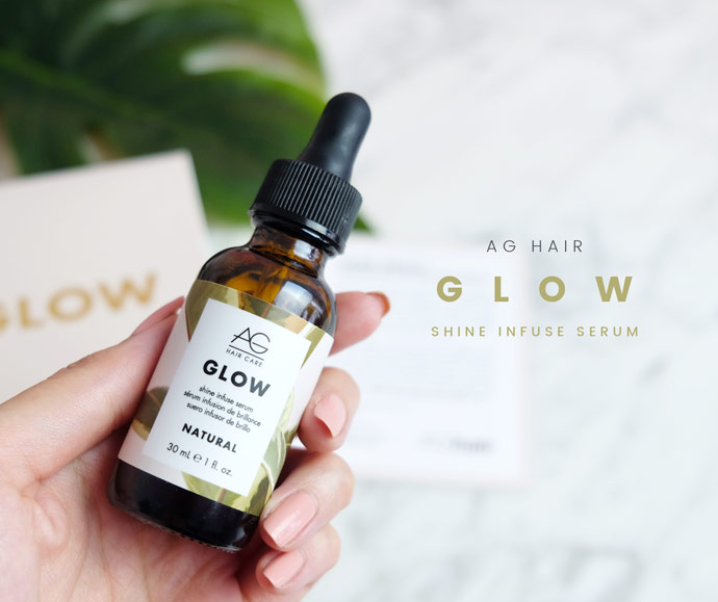 Glow From the Inside Out with AG Hair's Vegan Glow Hair Serum!