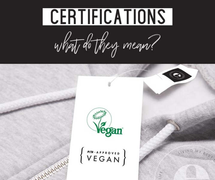 Vegan Fashion Certifications & Logos