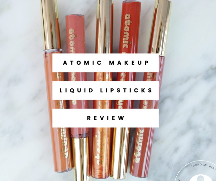 Atomic Makeup Cruelty-Free & Vegan Lipsticks Review