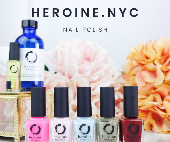 Heroine NYC Cruelty-Free + Vegan Nail Polish Review