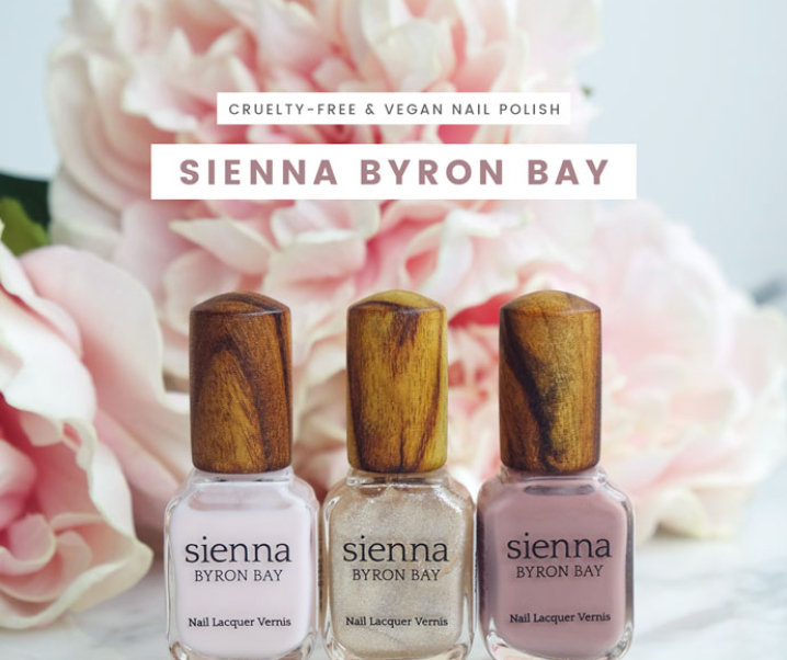 Review & Swatches – Sienna Byron Bay Nail Polish – Peace, Stone, Embrace