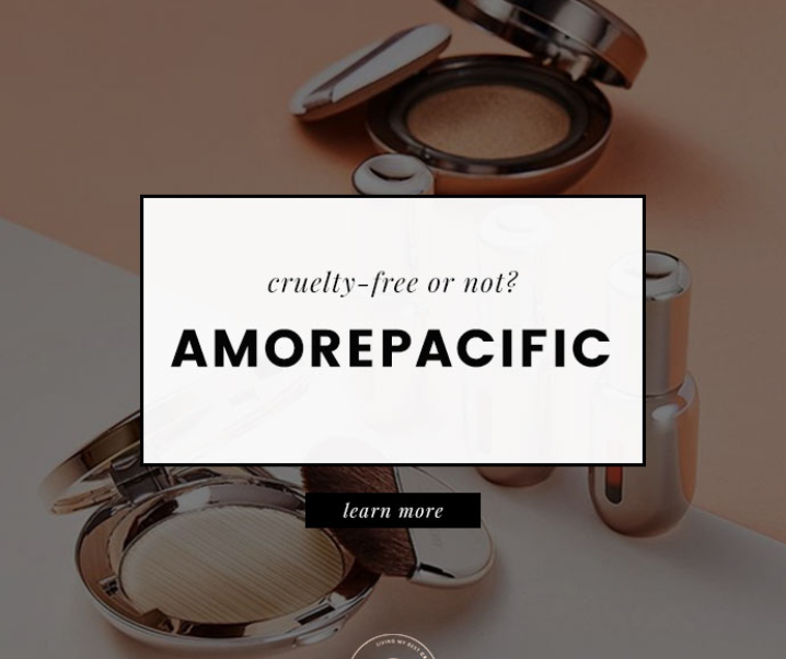 AmorePacific Animal Testing Policy