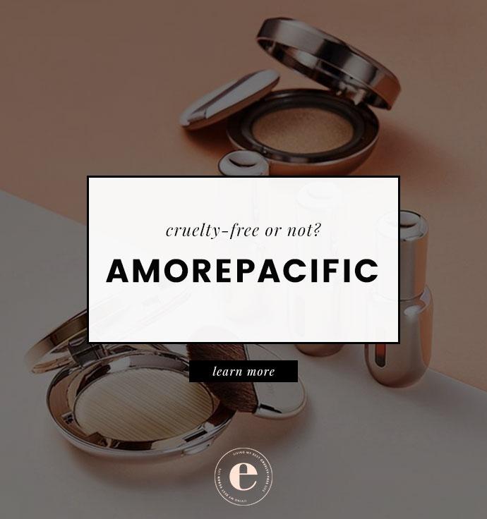 Is Amorepacific Cruelty-Free?