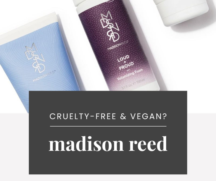 Is Madison Reed Cruelty-Free? | Does Madison Reed Test on Animals?