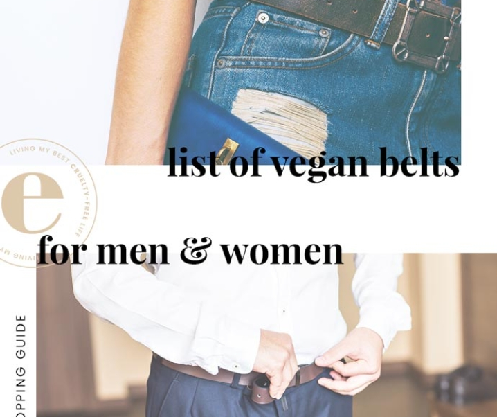 Ultimate List of Vegan Belts for Men & Women