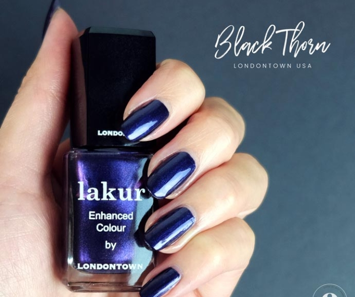 Londontown Black Thorn Review – Vegan Mani Monday
