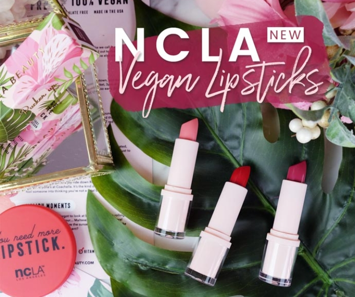 {NEW} Cruelty-Free & Vegan NCLA Lipsticks Are Here!!