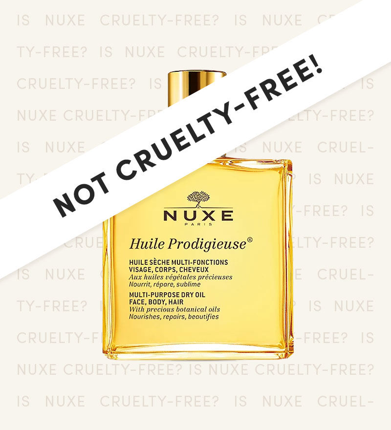 Is NUXE Cruelty-Free?